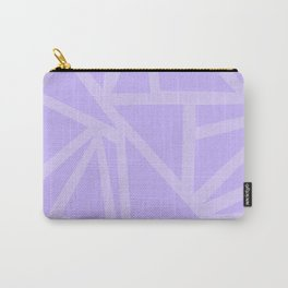 Shards in Purple Carry-All Pouch