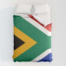 Flag of South Africa Comforters
