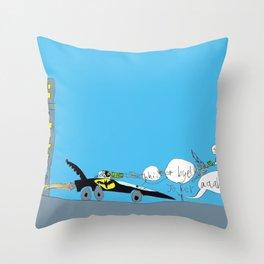 Harris drawing Throw Pillow