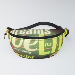 LIFE IN THE WOODS Fanny Pack