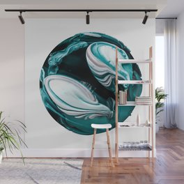 Abstract Planet v9 Wall Mural