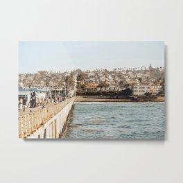 Walkway San Diego, California Metal Print
