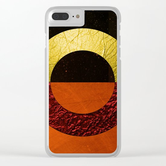 Abstract #112 Clear iPhone Case