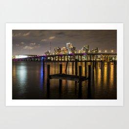 Night in Miami Art Print