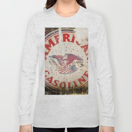 American Gasoline - Vintage Label Long Sleeve T-shirt