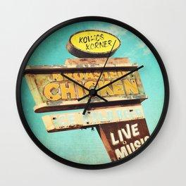 Kovacs Korner Wall Clock