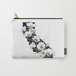 California In Bloom Carry-All Pouch