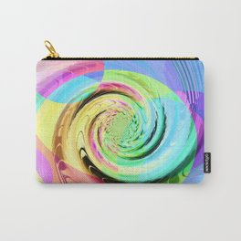 Re-Created Twisters No. 8 by Robert S. Lee Carry-All Pouch