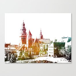 Cracow Wawel Canvas Print