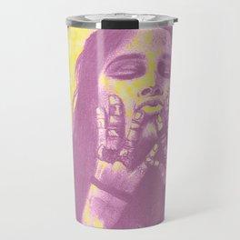Hand drawing Sophia Boutella Travel Mug