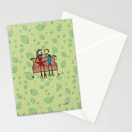 Life and living Stationery Cards