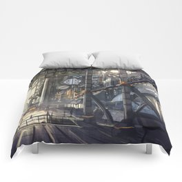 Industrial District Comforters