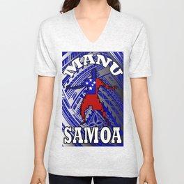 Manu Samoa Unisex V-Neck