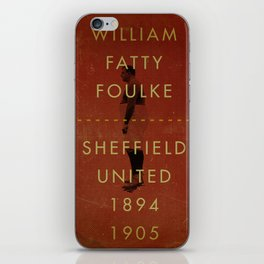 Sheffield United - Foulke iPhone Skin