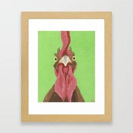 Sarge Rooster Art Framed Art Print