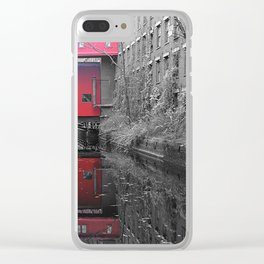Evolution Of Lowell Clear iPhone Case