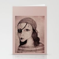 pirate Stationery Cards featuring Pirate by CokecinL