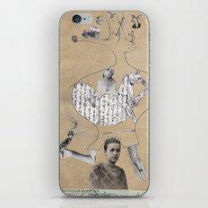 Future is in your head iPhone & iPod Skin