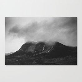 ICELANDIC MOUTAIN Canvas Print