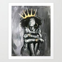 Naturally Queen IX Art Print