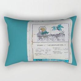 Bítlarnir  Rectangular Pillow
