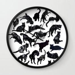 LBC - Little Black Cat Wall Clock