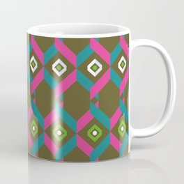 "Pattern ""Honeycomb"" Coffee Mug"