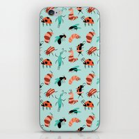 bugs iPhone & iPod Skins featuring Bugs by JenHoney