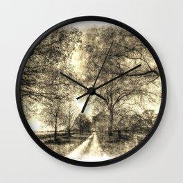 The Summer Farm Track Vintage Wall Clock