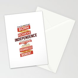 Nine Noble Virtues - Solidarity Stationery Cards