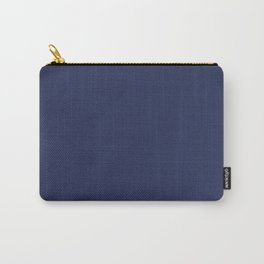 Navy Ocean Blue Solid Color  Carry-All Pouch
