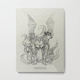 CTHULATHON: 249 Metal Print