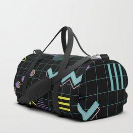 Memphis Pattern 4 - 80s Retro Duffle Bag