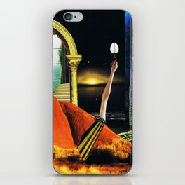 the dreamtime - collage iPhone Skin