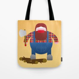 Woodcutter. Tote Bag