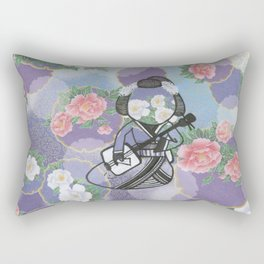 The Fifth Beautiful Geisha Rectangular Pillow