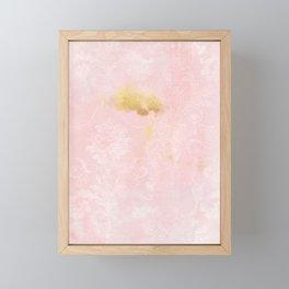 Pink Blush Framed Mini Art Print