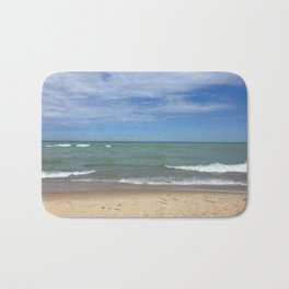 A Peaceful Moment At The Lake Bath Mat
