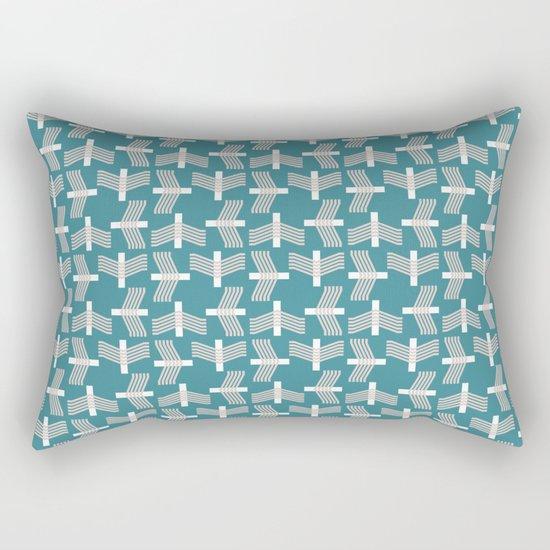 FLYING (abstract geometric pattern) Rectangular Pillow