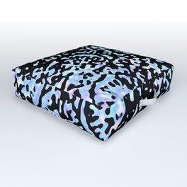 Ciel & Purple Identity (Pattern Breaker 2019 Tiles Collection: 5-9-12) Outdoor Floor Cushion