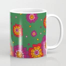 Retro Blooming Coffee Mug