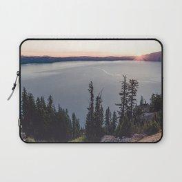 Lakeside Sunrise Laptop Sleeve