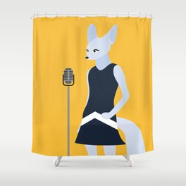 Fennec Shower Curtain