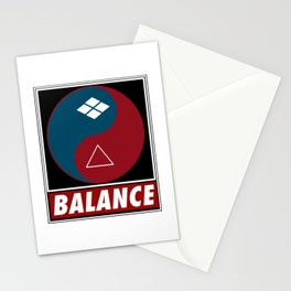 Samurai Balance Stationery Cards