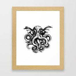 Cthulu Framed Art Print
