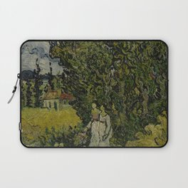 Cypresses and Two Women Laptop Sleeve