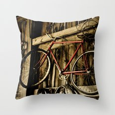 Vibrant Relic Throw Pillow