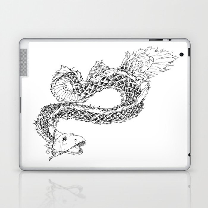 Sea Dragon Laptop & iPad Skin