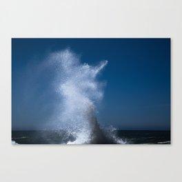 Abstract Waves no. 2 Canvas Print