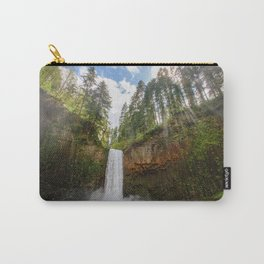 Abiqua Falls, Oregon Carry-All Pouch